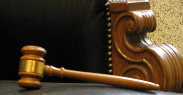 Gavel and Judges' Chair